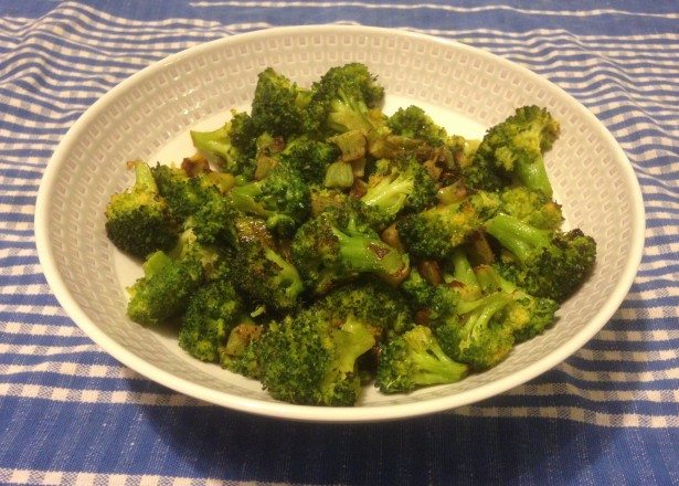 Lesson learned: It's hard to make cooked broccoli look appealing.